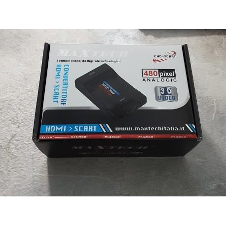 CONVERTITORE DA HDMI A SCART 480 pixel 3D video