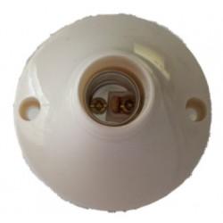 Portalampada rotonda E14 per punto luce interno