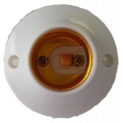 Portalampada rotonda E27 per punto luce interno
