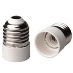 Adattatore per lampade da E 27 a E 14