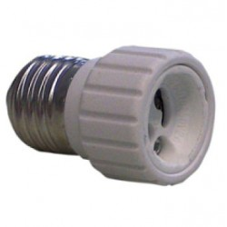 Adattatore per lampade da E 27 a GU10