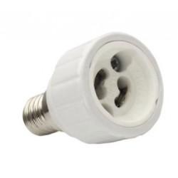 Adattatore per lampade da E14 a GU10