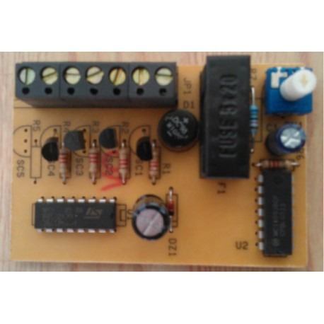 Sequenziatore di luci 200 W 2/3/4 canali V.230
