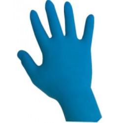 Guanti blu in nitrile taglia