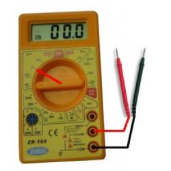 Tester digitale tensione DC/AC max. 250v. corrente DC max. 10 A