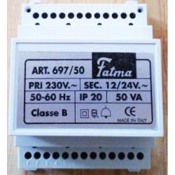 Trasformatore modulare per barra DIN 4 moduli