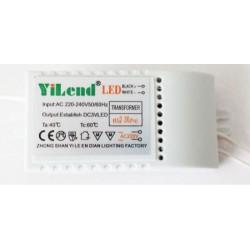 Alimentatore stabilizzato per coroncine a led entrata 230V. CA uscita 3,5V. CC