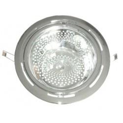 FARO DA INCASSO FISSO PER DUE LAMPADE E27