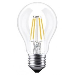 GOCCIA TRASPARENTE A LED E27 5W