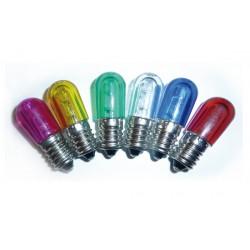 LAMPADA LED E14 PER LUMINARIE 14V. COLORATA