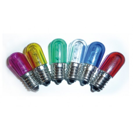 Lampada led e14 per luminarie 14v colorata simde srl for Lampada led e14