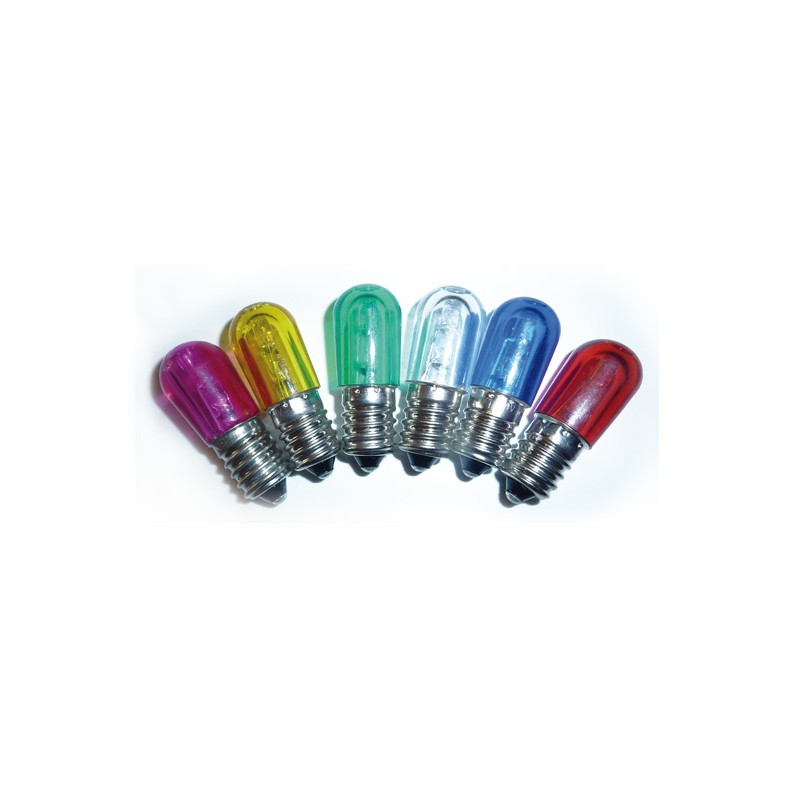 Lampada led e14 per luminarie 14v colorata simde srl for Lampada led e14