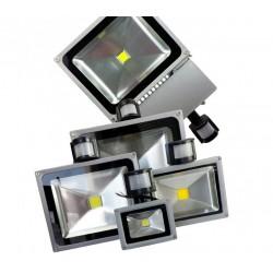 PROIETTORE A LED CON SENSORE 10W/20W/30W/50W