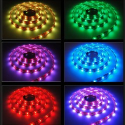 STRIP LED 50X50 60 LED/MT 14,4W MT. 5 LUCE RGB