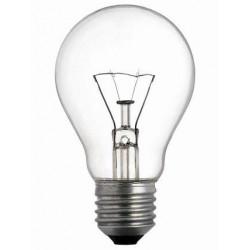 LAMPADA AD INCANDESCENZA GOCCIA CHIARA E27 25W/40W/60W/75W/100W/150W/200W
